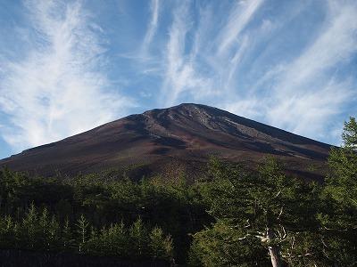 2011年の富士山登山は日帰りで