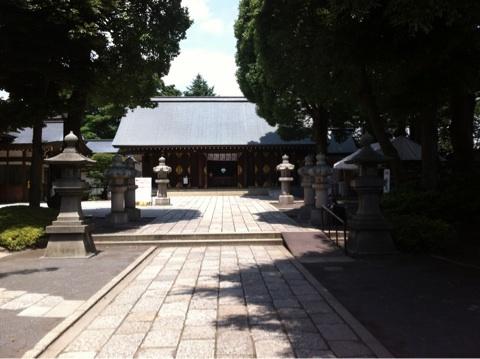 世田谷法務局に行ったついでに松陰神社へ