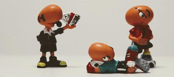 審判の人形