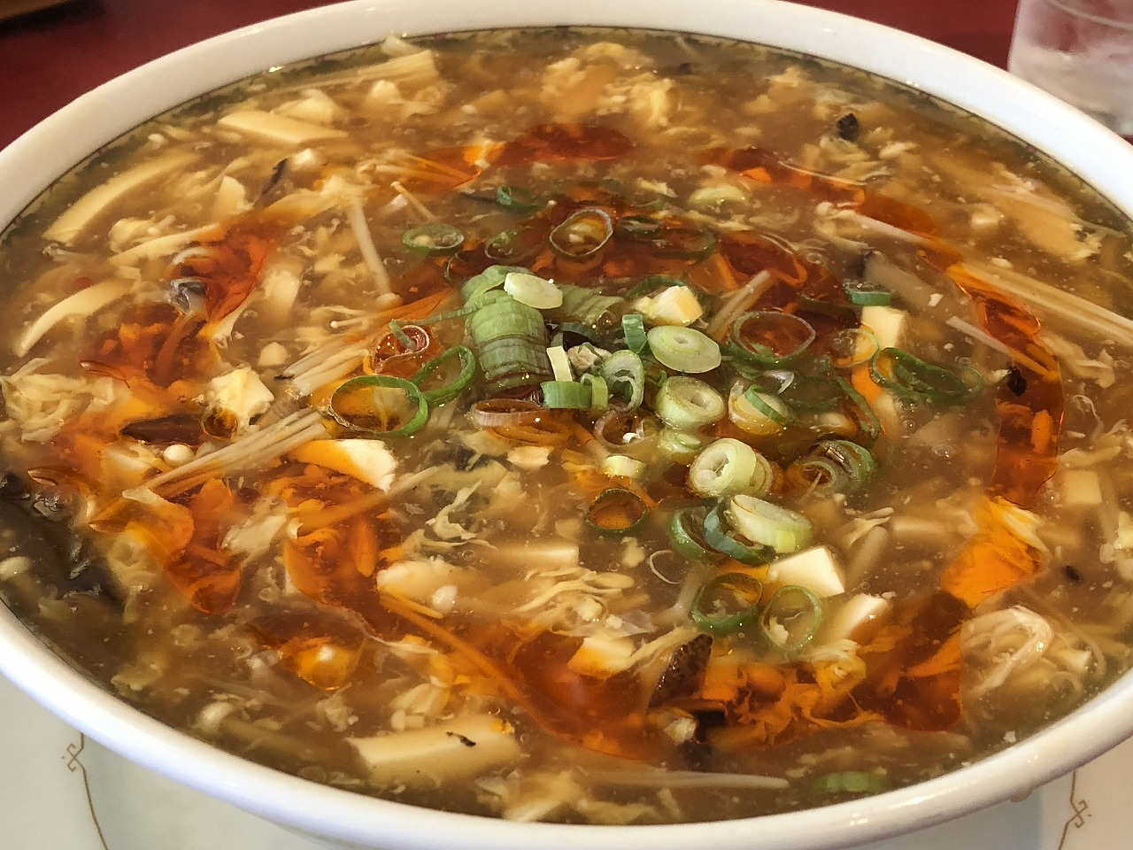 【尾山台グルメ】尾山台の中華料理屋「崋山」の酸辣湯麺(スーラータンメン)は超絶美味いよ