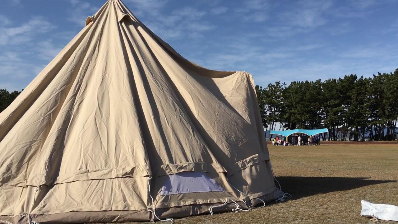 一生モノのコットンテント、キャンバスキャンプのシブレー500を使ってみて