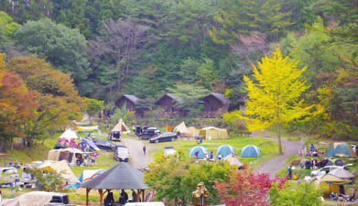 【群馬県】星空がキレイだと評判の「星の降る森」で年に一度のファミリーキャンプ