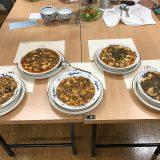 麻婆豆腐を作って食べる会を開催。どれも美味しくて大満足